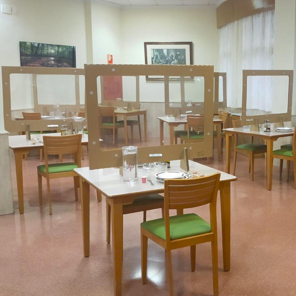 Mampara Protectora Restaurante