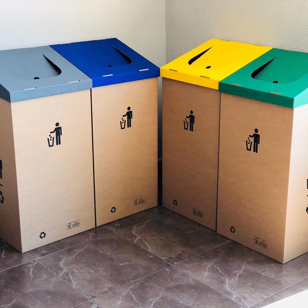 Papeleras reciclaje, papeleras personalizables