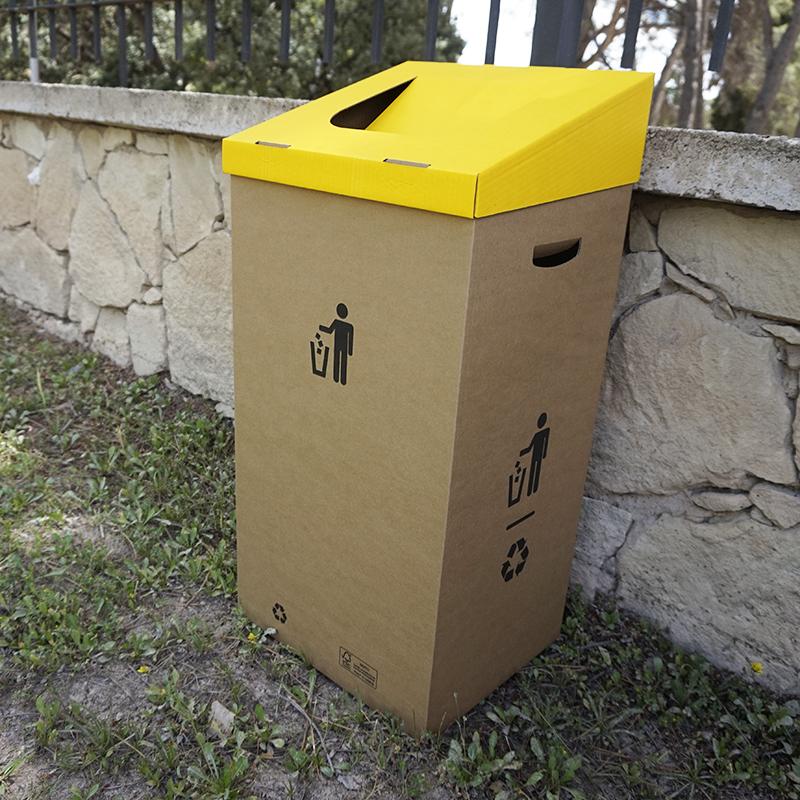 Papeleras reciclaje