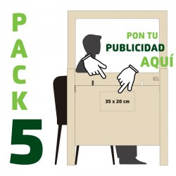 Pack 5 Mamparas 160 ·...