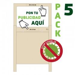 PACK 5 Mamparas Altas...